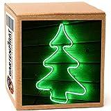 Tannenbaum 54cm aus Neon-Lichtschlauch 240 LED Figur Weihnachten außen