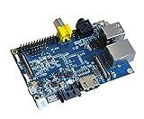 BANANA pi–A New Génération Haut de Gamme Single Board Ordinateur/Processeur: A20ARM Cortex A7Dual Core/pris en charge os: Android 4.2, Fire Fox os et Linux etc. OS/Memory (SDRAM): 1Go DDR3(Shared with GPU