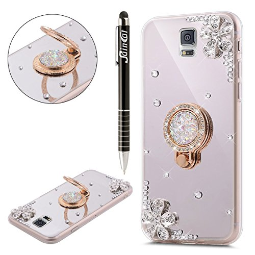 Coque Galaxy Note 4, Galaxy Note 4 Coque Silicone Diamant, SainCat Ultra Slim TPU Silicone Case Cover pour Samsung Galaxy Note 4, Coque Bling Bling Glitter Strass Diamant Silicone 3D Anti-Scratch Soft Gel Cover Coque Caoutchouc Transparent Silicone Case, Coque Anti Choc Gel Souple Housse Silicone Ultra Mince Shockproof Ultra Thin Bumper Femme Case Skin Étui Case Coque Housse Bumper Cover pour Samsung Galaxy Note 4-Argent