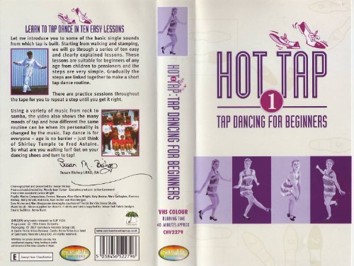 Hot-tap (Hot Tap 1 - Tap Dancing for Beginners [VHS])