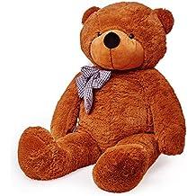 Lumaland Fortuna XXL oso de peluche Marrón 120 cm Peluche Oso ...