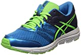 ASICS Gel-Zaraca 4 Gs, Unisex-Kinder Laufschuhe, Blau (Methyl Blue/Green Gecko/Indigo Blue 4285), 40 EU