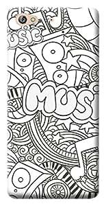 Mott2 Back Case for Gionee S6   Gionee S6Back Cover   Gionee S6 Back Case - Printed Designer Hard Plastic Case - Tribal pattern theme