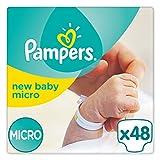 Pampers New Baby, 48 Pannolini, Taglia 0 (1-2,5 kg), 2 Confezioni da 24