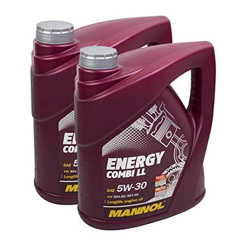 2X MANNOL MN7907-4 Energy Combi LL 5W-30 Motoröl API SN/CF 4L