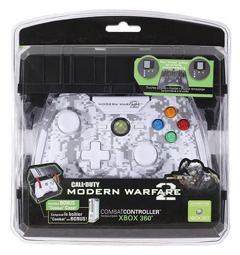 Xbox 360 - Controller Call of Duty - Modern Warfare 2 White (Cod Modern Warfare 2 Xbox 360)