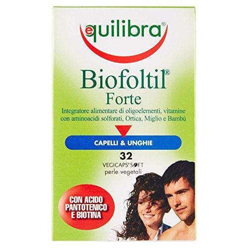 Equilibra Biofoltil Forte Integratore Alimentare - 32 Perle Vegicaps
