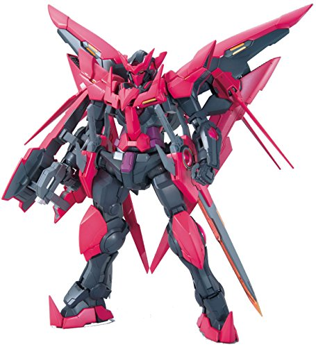 Bandai Hobby MG 1/100Gundam Exia Dark Matter Model Kit (Bandai Gundam Mini)