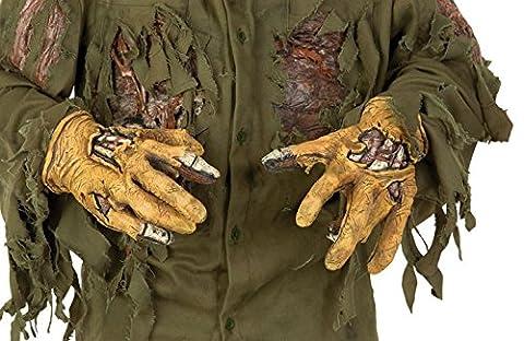 Freitag der 13. Jason Hände aus Latex (Jason Kostüm Freitag Der 13.)