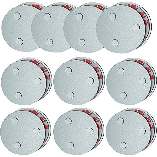 Meiprosafe Magnet Befestigung für Rauchwarnmelder, Magnetbefestigung Rauchmelder (10 Stück)