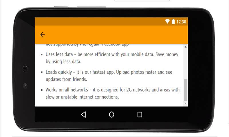 Download App for Facebook Lite - 3