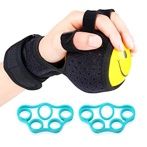 Pinza Mano Allenamento Forza per Avambraccio Polso Manopole Mani Metal Hand Gripper Sollievo Dolore Muscolare e Terapia Finger Exerciser MoKo Pinza Mano