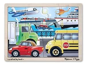 Melissa & Doug On the Go (Vehicles) Jigsaw Puzzle (12 Piece)