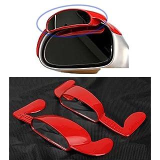Grün Tec Super Aero Visier LH RH Seite Spiegel View Regen Gebläse 2-Set für Universal Fahrzeug