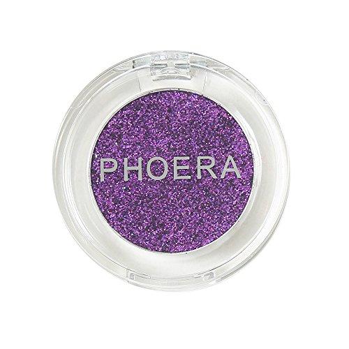 Luckhome Farben Schimmer Matt Mineral Pigment Lidschatten Palette Nude Beauty Make up (F)