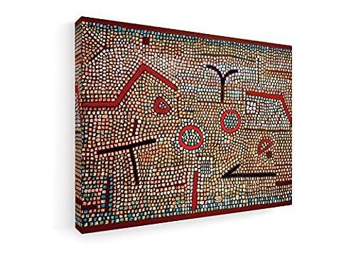 Paul Klee - Mosaik aus Prhun - 1931 - 40x30 cm - Leinwandbild auf Keilrahmen - Wand-Bild - Kunst, Gemälde, Foto auf Leinwand - Alte Meister / Museum
