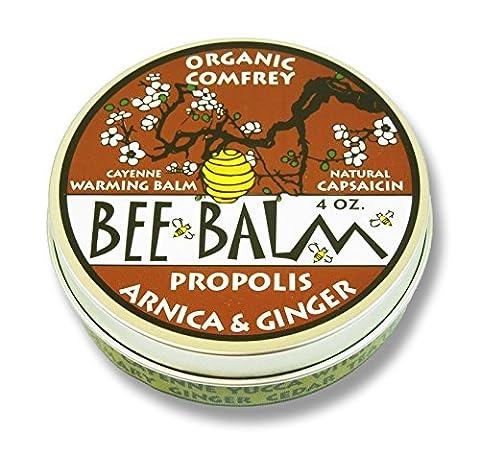 Black Hills Honey Farm, Bee Balm, Arthritis Rub, Arnica and Ginger, 4 oz by Black Hills Honey Farm