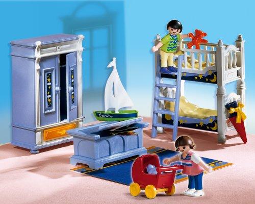 PLAYMOBIL 5328 - Kinderzimmer mit Stockbett (Playmobil Kinderzimmer)