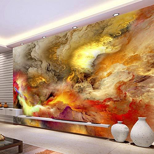Moderna Arte Astratta wallpaper 3D Nuvole Colorate Foto Murale Della Parete Dipinti Galleria Ristorante Cafe Bar KTV Creativo Complementi Arredo Casa cchpfcc-400X280CM