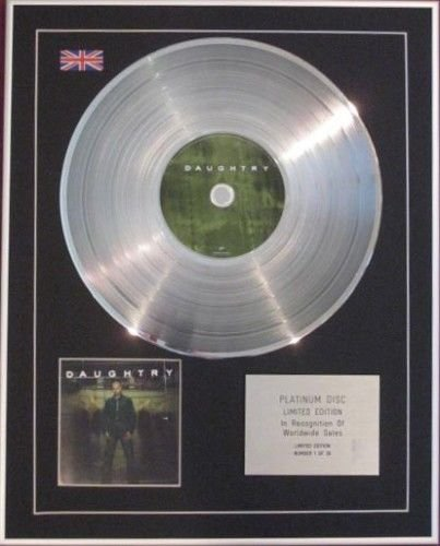 """DAUGHTRY-Platinum-CD-""""DAUGHTRY"""""""
