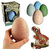 2x Schlüpfende Dinosaurier Ei XXL 11 cm Jumbo Dinoei Magisches Dino Ei Magic Egg von Funtrading