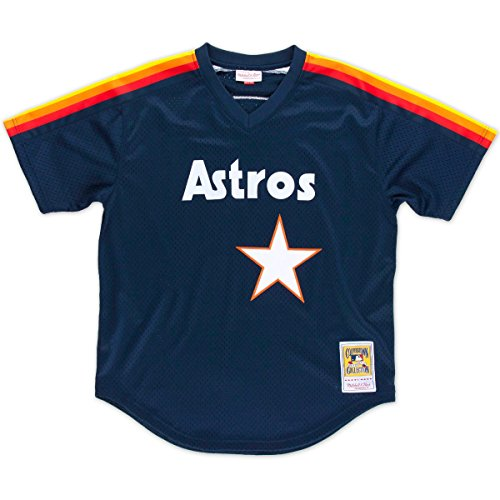 Nolan Ryan Houston Astros Mitchell & Ness Authentic 1988 BP Jersey Trikot (Jersey Ryan Nolan)