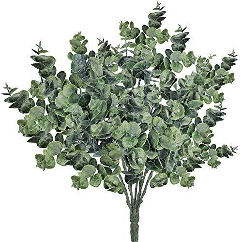 Ruiuzi - Ramas eucalipto Artificial espray Hojas eucalipto