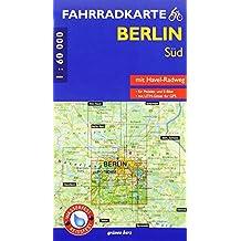 Fahrradkarte Berlin Süd: Mit Havel-Radweg<br>Mit UTM-Gitter für GPS. Maßstab 1:60.000. Wasser- und reißfest. Für Pedelec und E-Bike. (Fahrradkarten)