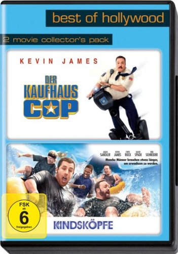 Sony Pictures Home Entertainment Best of Hollywood 2012 - 2 Movie Collector's, Pack 116 (Der Kaufhaus Cop / Kindsköpfe) [2 DVDs]