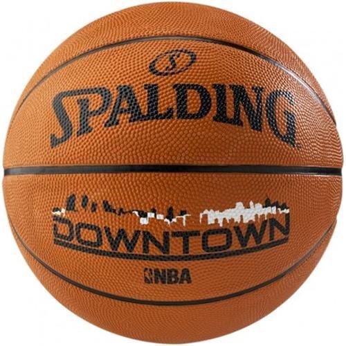 Spalding Basketball NBA Downtown Brick - Pelota de baloncesto, color multicolor, talla 5