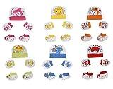 #4: MY BABY CAP MITTEN & BOOTIES SET (COMBO OF 6) (Design May Vary)