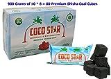Best Aroma Narghilè Carboni - Coco Star 80cubi di carbone per Shisha e Review