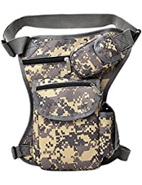 SBE Unisex Canvas Bags Fit Cycling Hip Fanny Bag Pack For Cycling Waist Belt Bag Pouch Thigh Bag For Riding