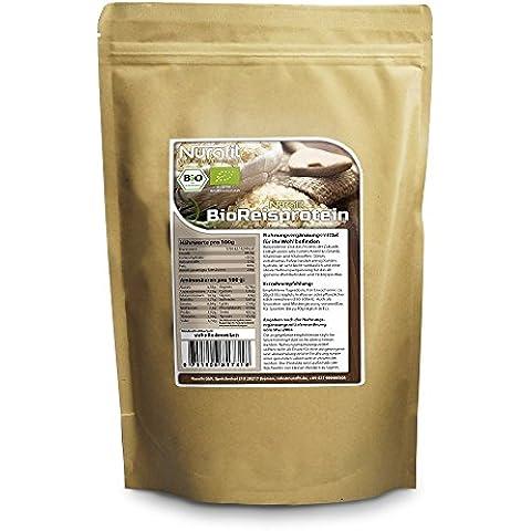 Nurafit Proteine di riso in polvere BIO