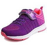 Sneaker Mädchen Laufschuhe Jungen Hallenschuhe Jungen Outdoor Sportart Schuhe Low-Top für Unisex-Kinder pink 33
