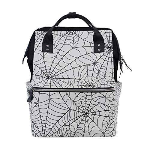 au Spinnennetz Große Kapazität Windel Taschen Mummy Rucksack Multi Funktionen Wickeltasche Tasche Handtasche Für Kinder Babypflege Reise Täglichen Frauen ()