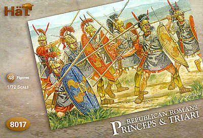 Hat Figures - Republican Romans - Princeps & Triari - Hat8017
