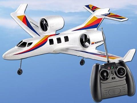 "Simulus Flugzeug: Funk-Ferngesteuerter Jetliner ""DP-317.Sky"" mit 2 Triebwerken (Ferngesteuerte Flugzeuge)"