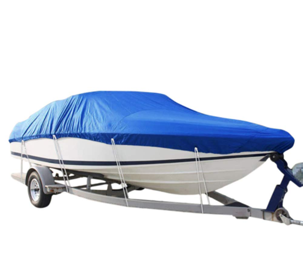 51iJQS9OOZL - RIYIFER Trailerable Runabout Boat Cover, 600D Marine Grade Polyester Oxford cloth Boat Cover Shield Waterproof Sunblock…