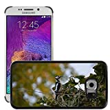 hello-mobile Bild Hart Handy Schwarz Schutz Case Cover Schale Etui // M00137320 Buntspecht Vogel // Samsung Galaxy S6 EDGE (Not Fits S6)