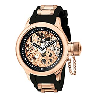 Invicta Analog Pink Dial Men's Watch – 1090