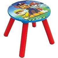 Preisvergleich für Unbekannt Fun House 712594Pat Patrouille Hocker für Kinder Holz MDF blau 28x 28x 26,5cm