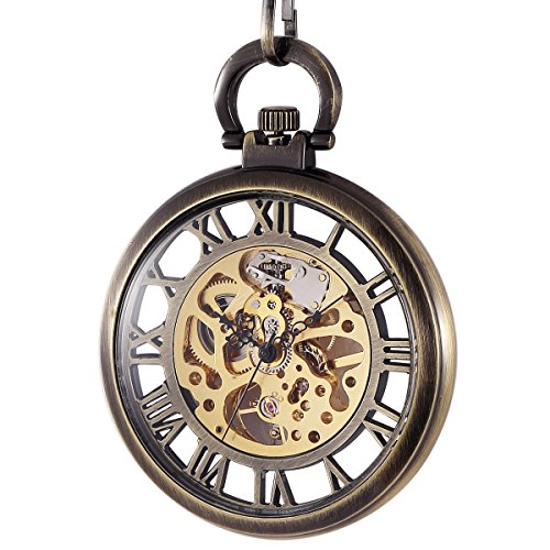 manchdar-mens-pocket-watch-vintage-bronze-open-face-skeleton-mechanical-hand-wind-golden-movement-br