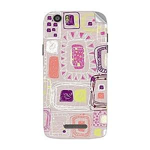 Garmor Designer Mobile Skin Sticker For XOLO Q700S - Mobile Sticker