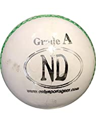 Segundo Grado de Formación y práctica Ataque a Senior Cricket Match Ball Blanco 5.50oz, blanco, suelto