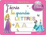 J'écris les grandes lettres avec les Princesses - Ardoise