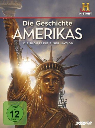 Die Geschichte Amerikas – Die Biografie einer Nation [3 DVDs]