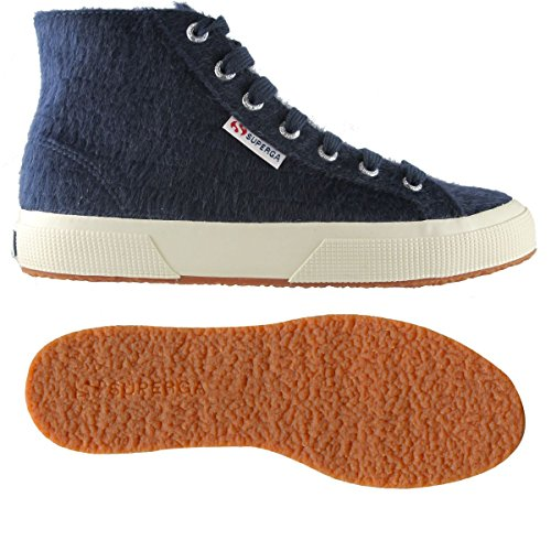 Superga 2754 Synthorsew Ladies Shoe Blue Navy
