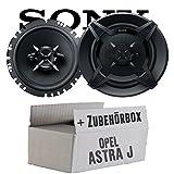 Opel Astra J - Sony XS-FB1730-16cm 3-Wege Koax Lautsprecher - Einbauset