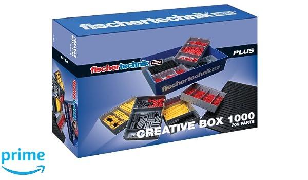 Giocattolo Fischertechnik Box it 1000 Creative EducativoAmazon Ljc4q53AR